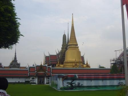 Wat Phra Kaew - You can see this image in the 1 Baht coin
