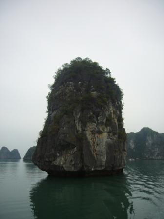 Typical formation in Halong Bay