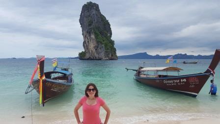 Lali in Poda Island Beach