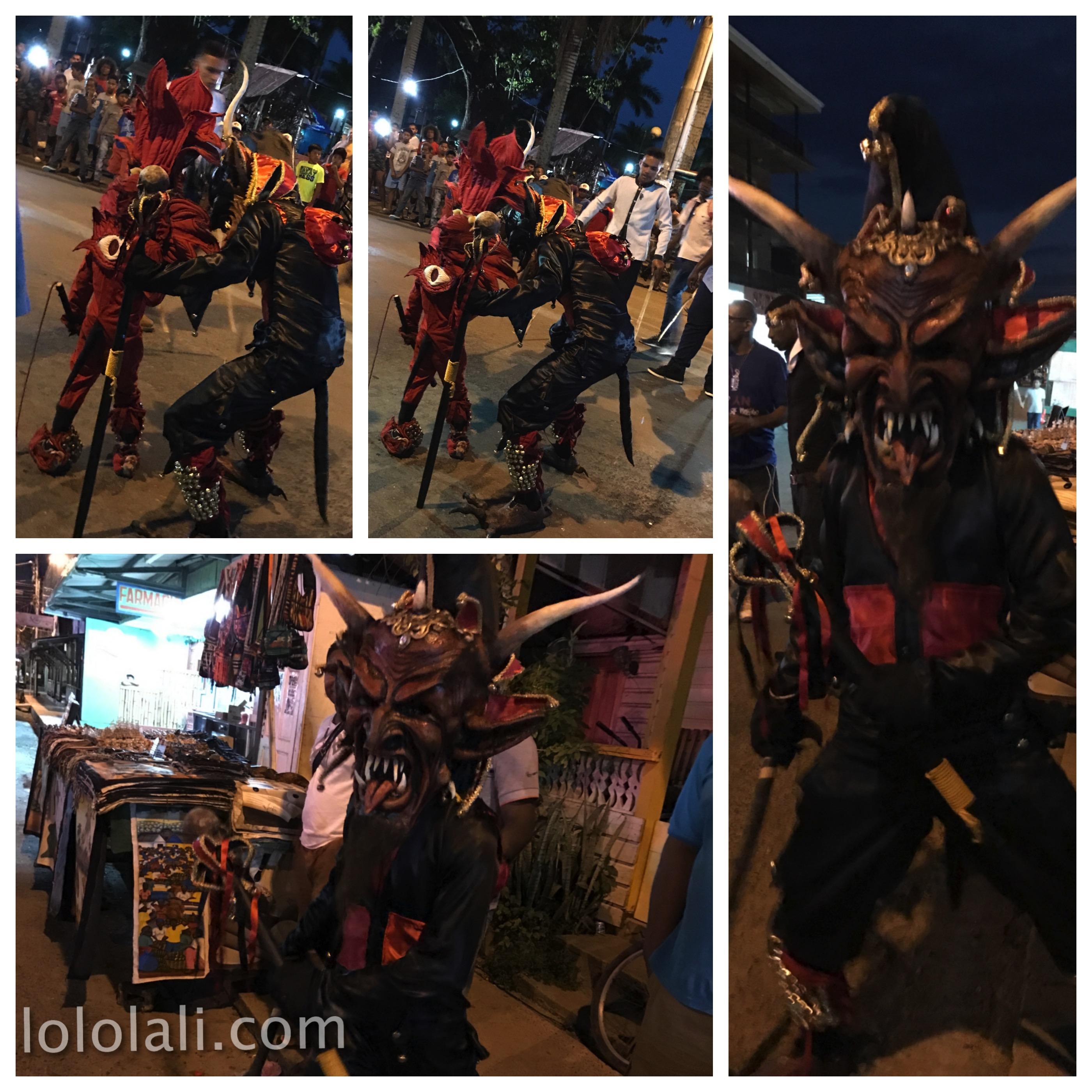 Carnavales en la Isla Colón, Bocas del Toro, Panama