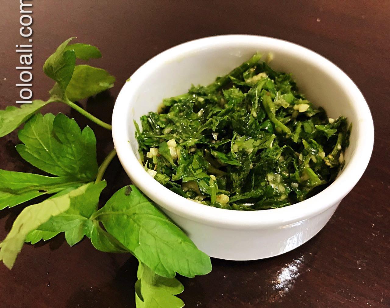 ¿Cómo preparar Chimichurri? – Receta