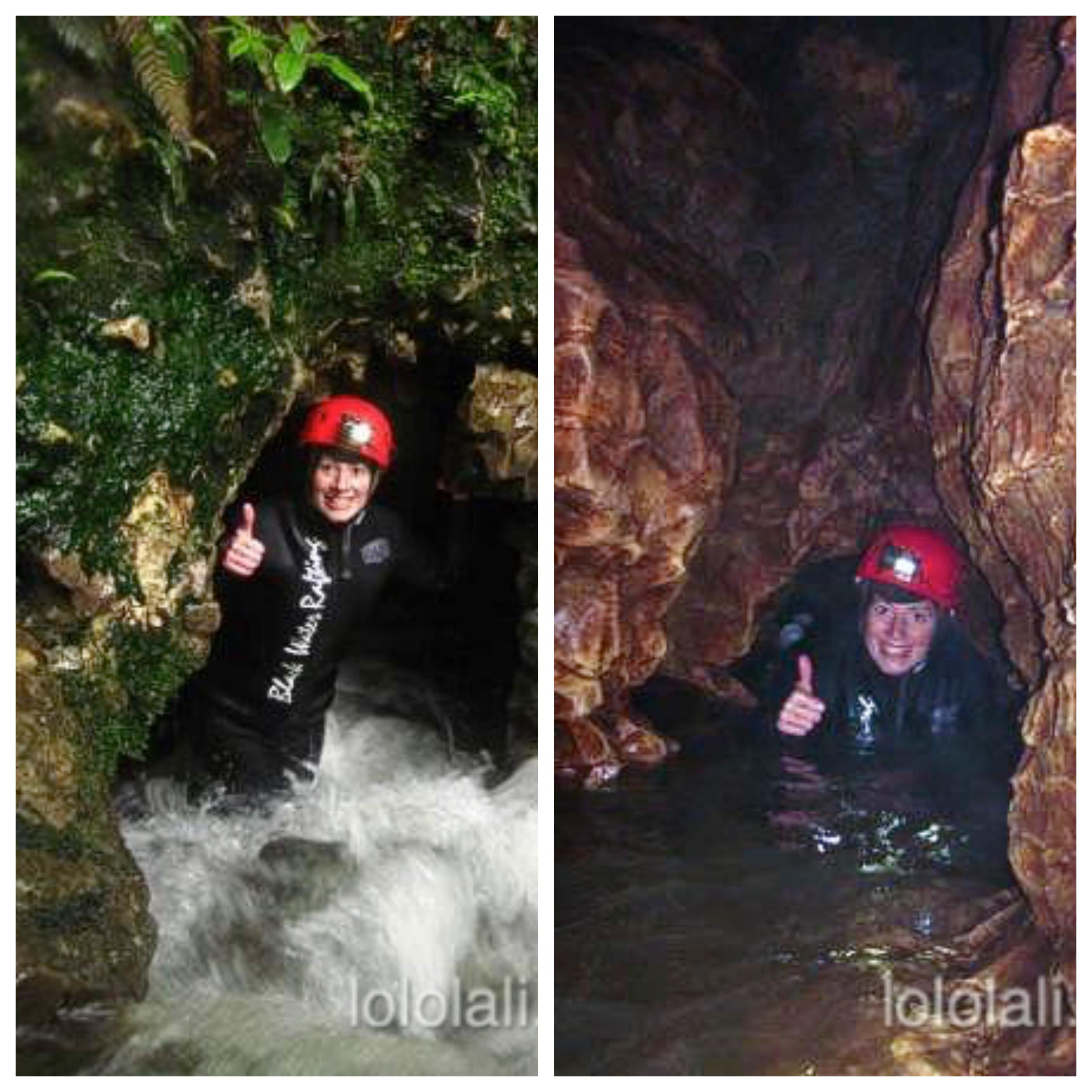 Lali en Waitomo Caves, Nueva Zelanda, Oceanía