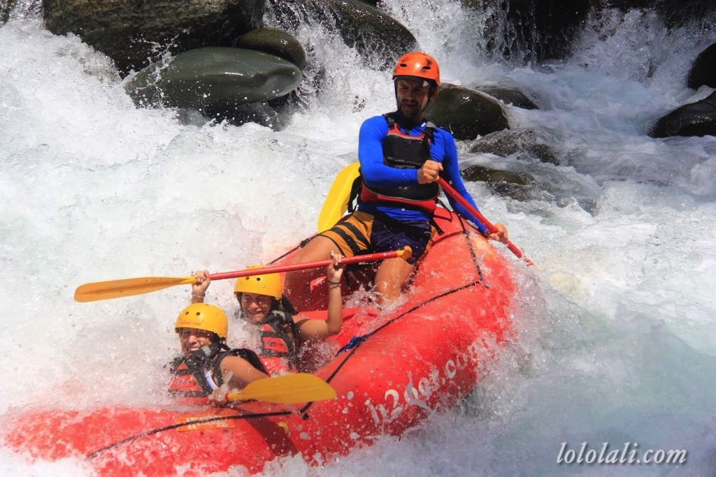 Rafting in El Chorrito