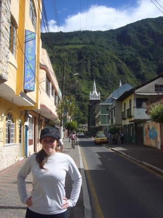 Lali en Baños de Agua Santa, Ecuador, www.lololali.com