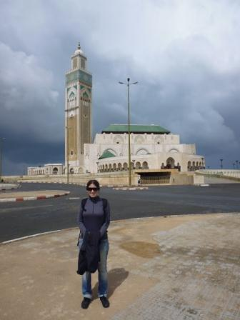 Lali near Hassan II Mosque