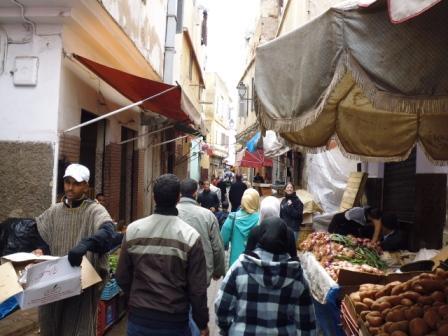 Zoco de la medina de Casablanca