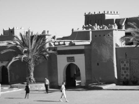 Exterior photo of the Kasbah of Taourirt