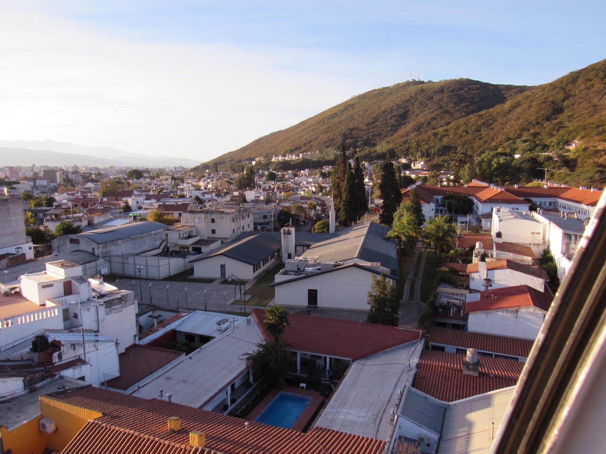 Vista de la ciudad desde el cerro San Bernardo, Salta, Argentina