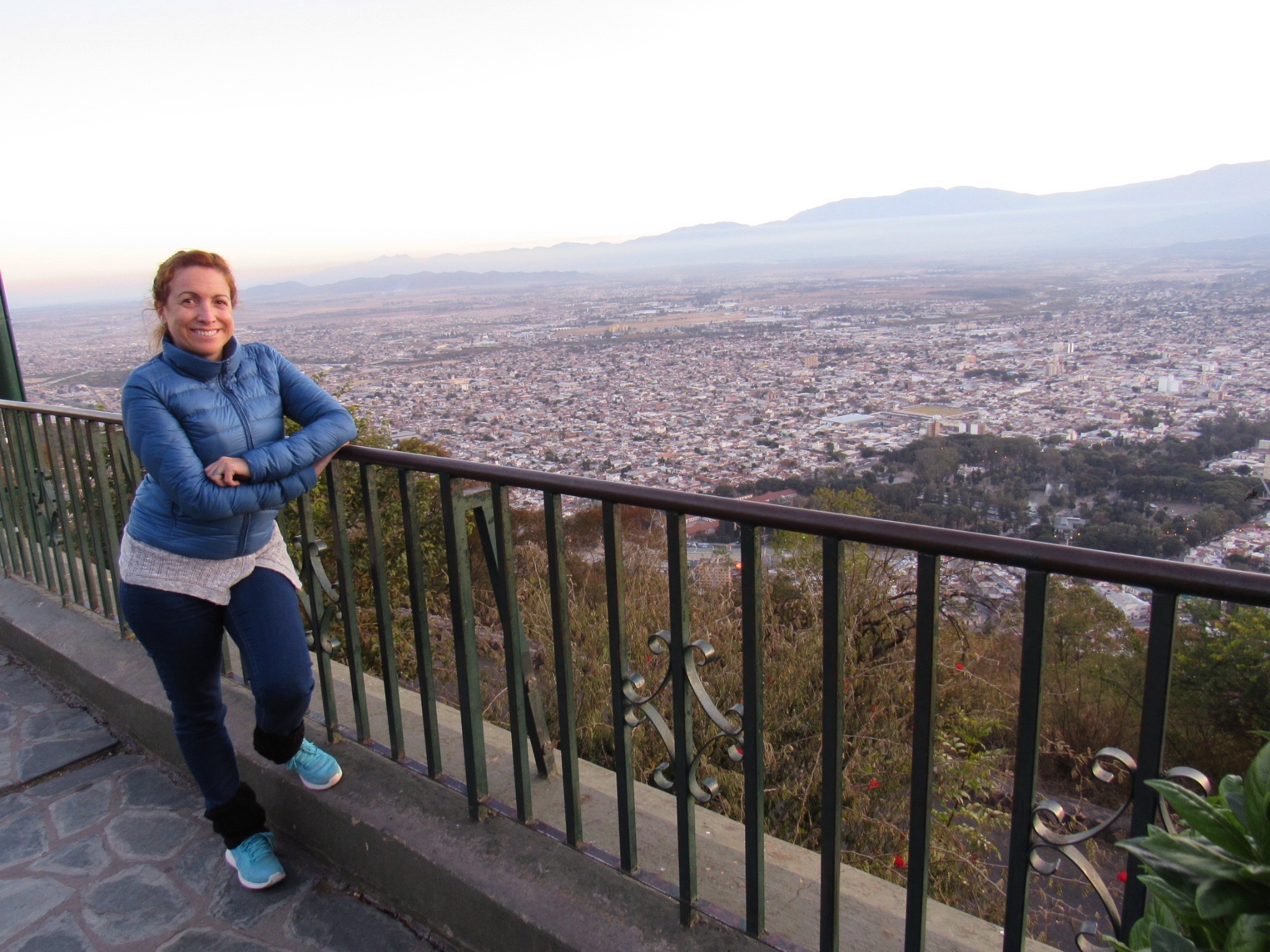 City View from Cerro San Bernardo, Salta, Argentina