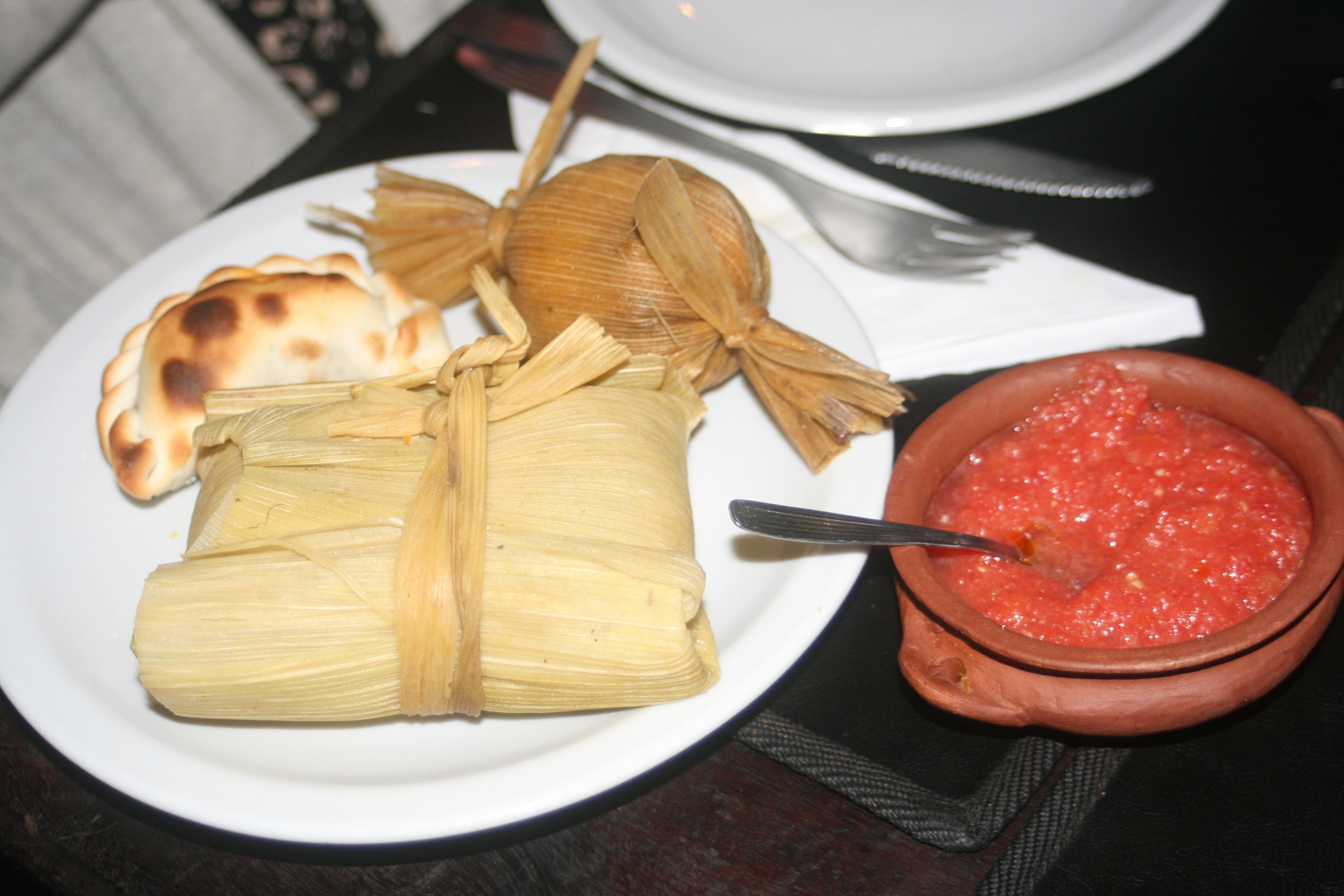 tamal, humita y empanada, Salta, Argentina