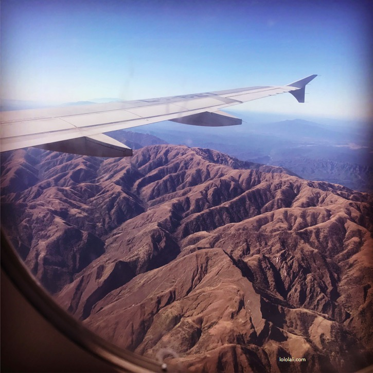 Salta from the sky