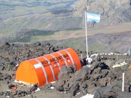 Refugio RIM a 2315 msnm