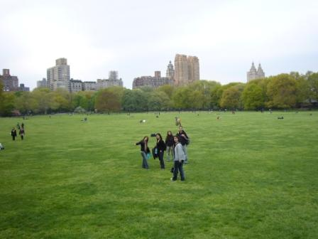 Lali en Sheep Meadow