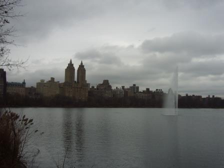 Vista desde el Jacqueline Kennedy Onassis Reservoir