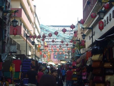 Lali en el China Town