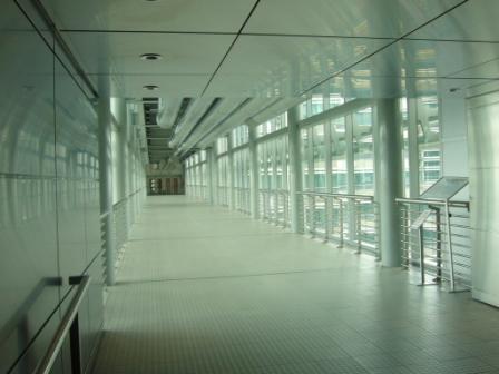Puente del piso 41 que une ambas torres Petronas