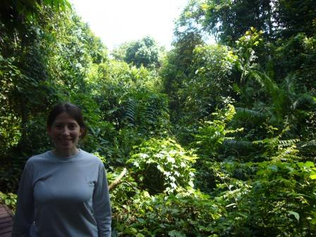 Lali en el Parque Nacional Taman Negara