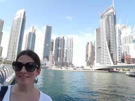 Marina fotografiada de día