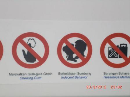 No te olvides que estás visitando un país musulmán y que tiene sus reglas de buena convivencia. Como todo buen viajero, hay que respetar las reglas del lugar.