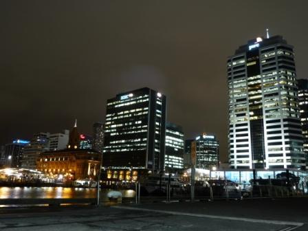 Auckland de noche