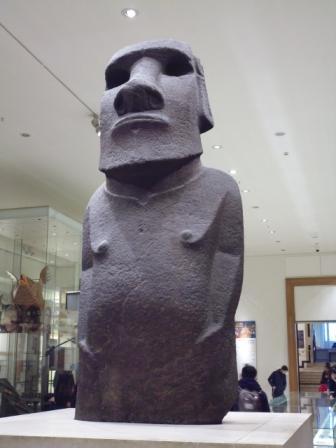 Moái en el Museo Británico