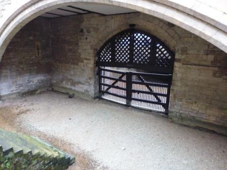 La Puerta de los Traidores construida por Eduardo I