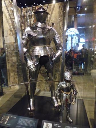 Museo de Armería dentro de la Torre de Londres