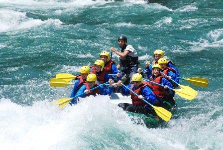 Bariloche, Rafting Manso Frontera