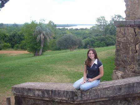 Lali en el Castillo San Carlos en Concordia, Entre Ríos.