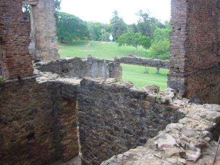 Vista desde adentro del Castillo San Carlos, Concordia Entre Ríos