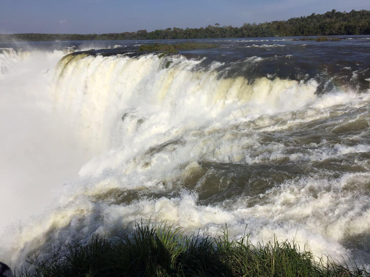 Vista de las Cataratas del Iguazú, Misiones