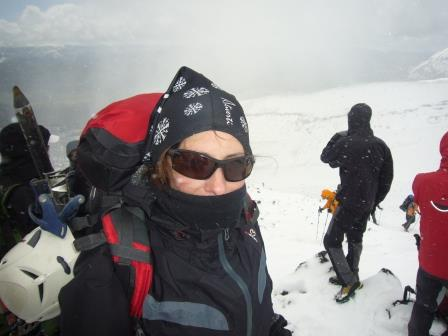 Ascenso al Volcán Lanín