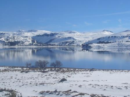 Vista desde la ciudad de Caviahue. www.lololali.com