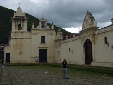 Salta - Iglesia y Convento de San Bernardo - Monumento Histórico Nacional - Ejemplo de la arquitectura colonial