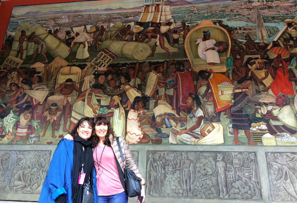 Palacio de Bellas Artes is not only an amazing auditorium, but also an incredible display of murals and art.