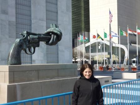 Lali en la ONU