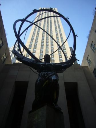 Rockefeller Center - Escultura Atlas