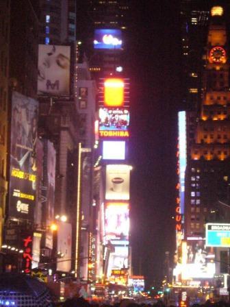 Las luces de Times Square de Nueva York