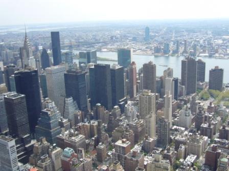 Vista desde el observatorio del Top of the Rock del Rockefeller Center de Nueva York