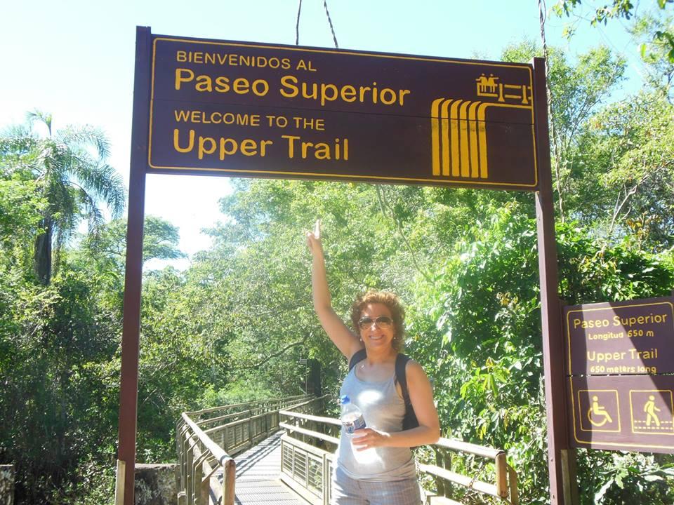 Paseo Superior Cataratas del Iguazú
