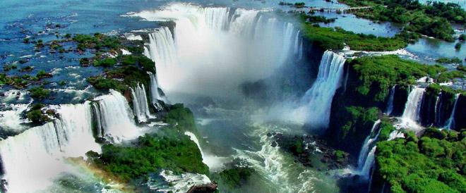 Panorámica de las Cataratas del Iguazú