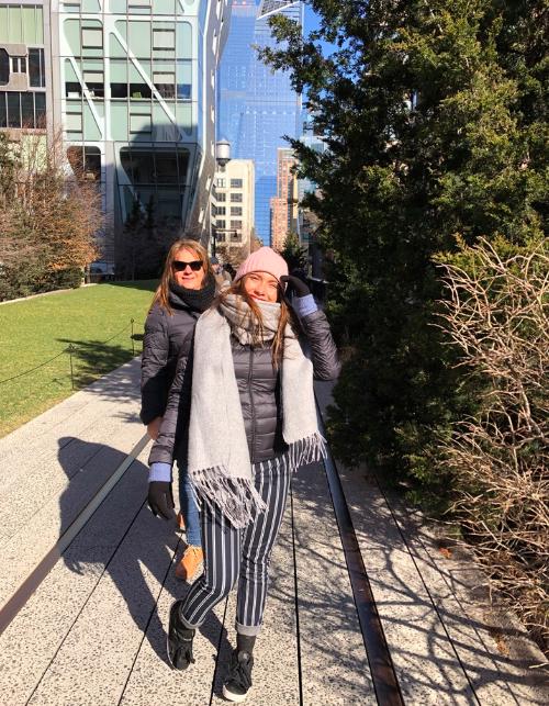 High Line Garden en invierno