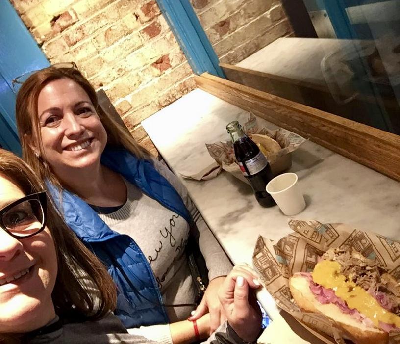 Chuta Madre - sándwich de cerdo ecuatoriano en Amy´s Bread. ¡Altamente recomendado!