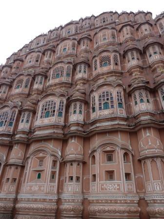 Hawa Mahal en Jaipur, India. www.lololali.com