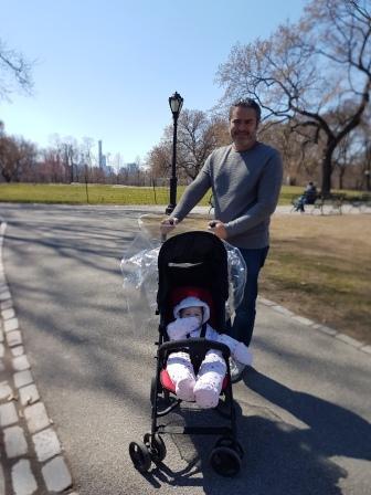 Con mi papá paseando por Central Park! www.lololali.com