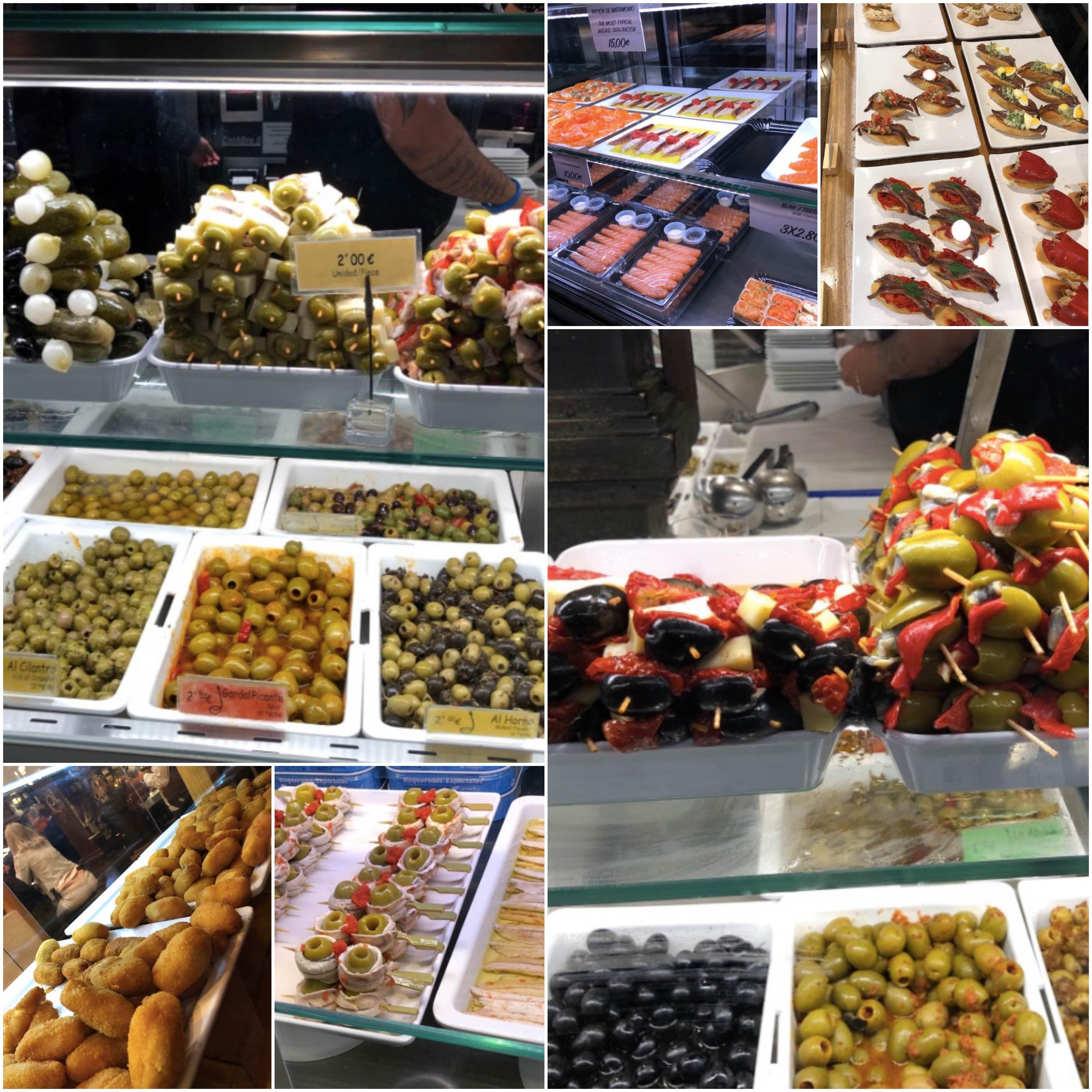 Mercado San Miguel - Tapas