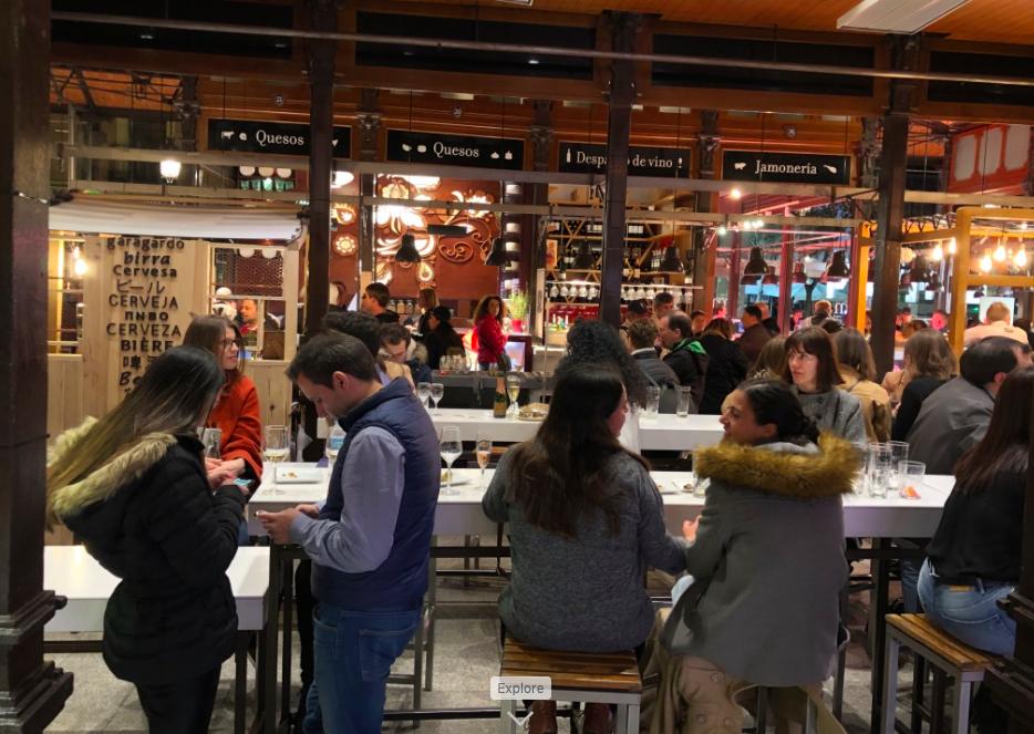 Mercado de San Miguel - Interior